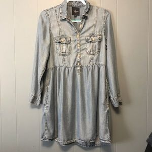 American Eagle Outfitters Chambray Dress